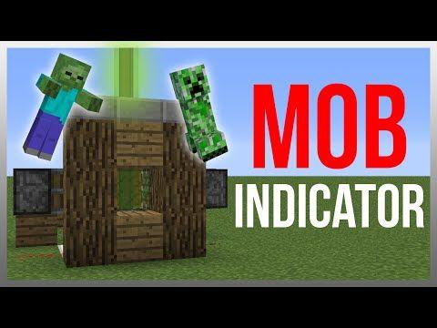Minecraft 1.9: Redstone Tutorial - Mob Indicator v2! - YouTube