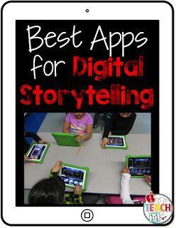 Digital Storytelling iPad Apps (most free)