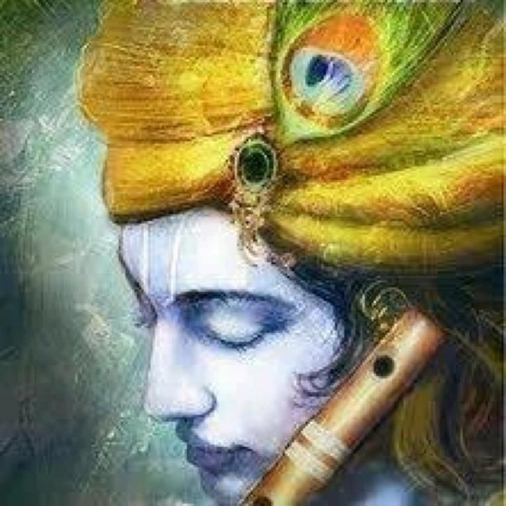 Beautiful Krishna | Paintings, Illustrations, Arts, Crafts ...