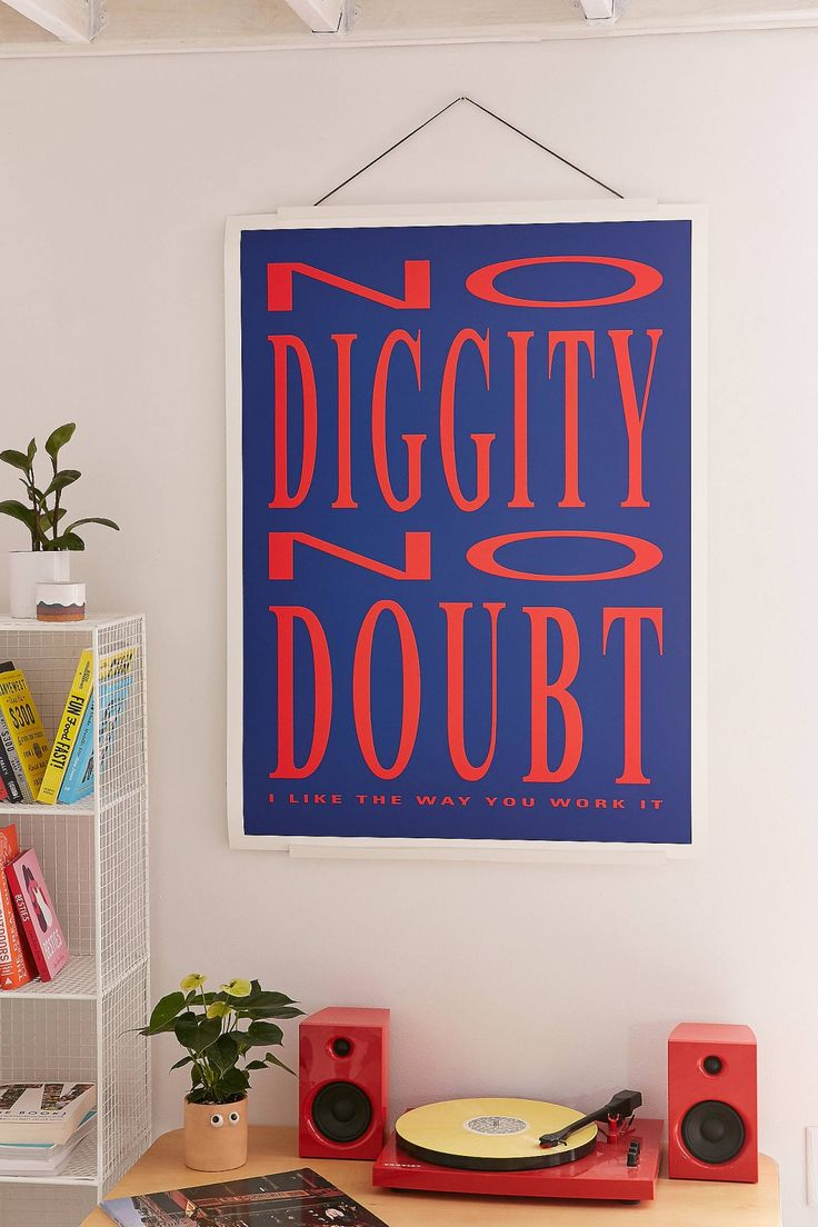 Sharon Laurilla No Diggity Art Print | Urban Outfitters