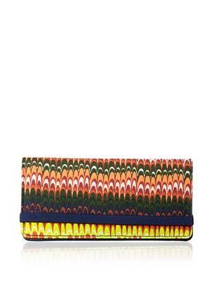 44% OFF Kate Spade Saturday Women's Fantastic Elastic Wallet, Marble/Stripe