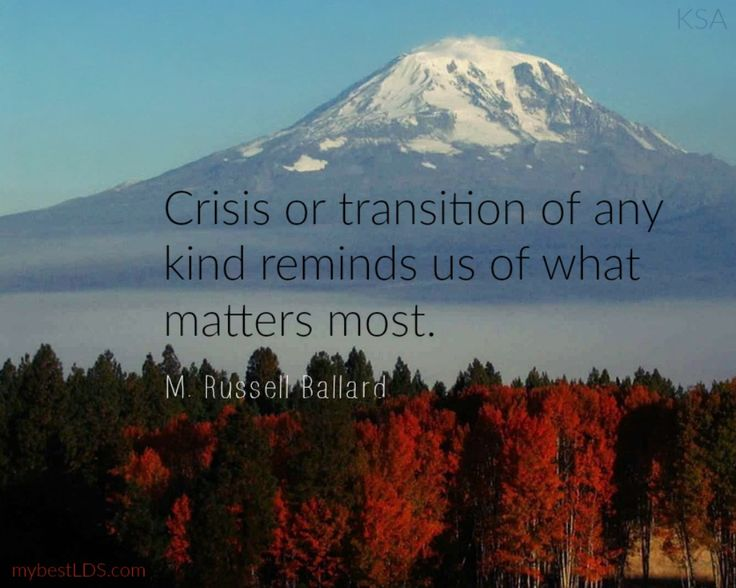 7 Inspiring LDS Quotes on Life Transitions and Change