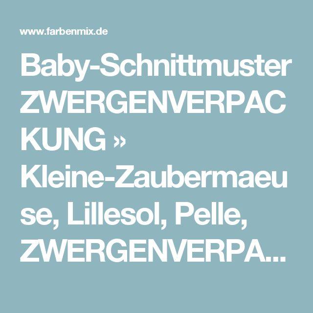 Baby-Schnittmuster ZWERGENVERPACKUNG » Kleine-Zaubermaeuse, Lillesol, Pelle, ZWERGENVERPACKUNG, Halstuch, Kleine-Zaubermäuse » Farbenmix