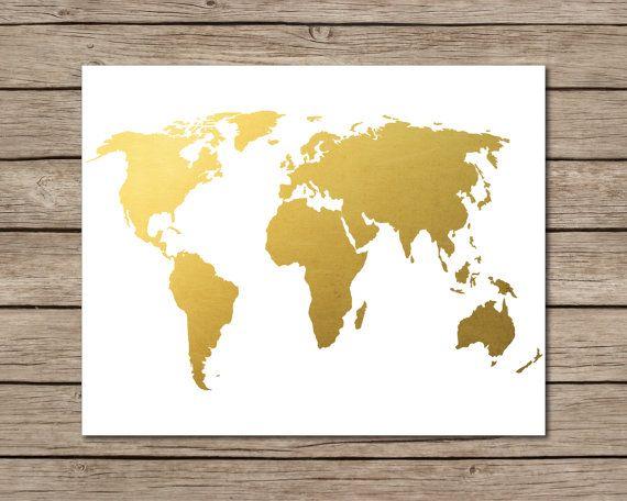 204 best World Map Art images on Pinterest   Tattoo ideas, World ...
