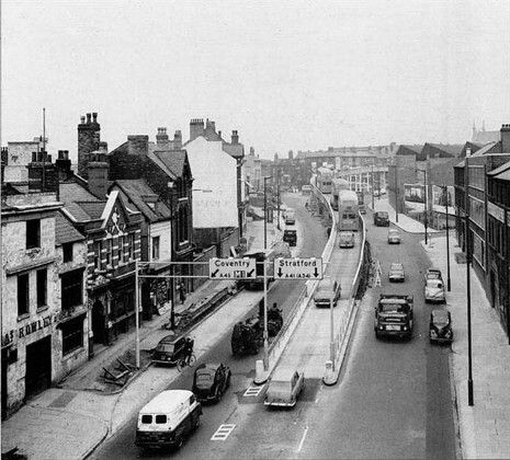 The old flyover,Digbeth.
