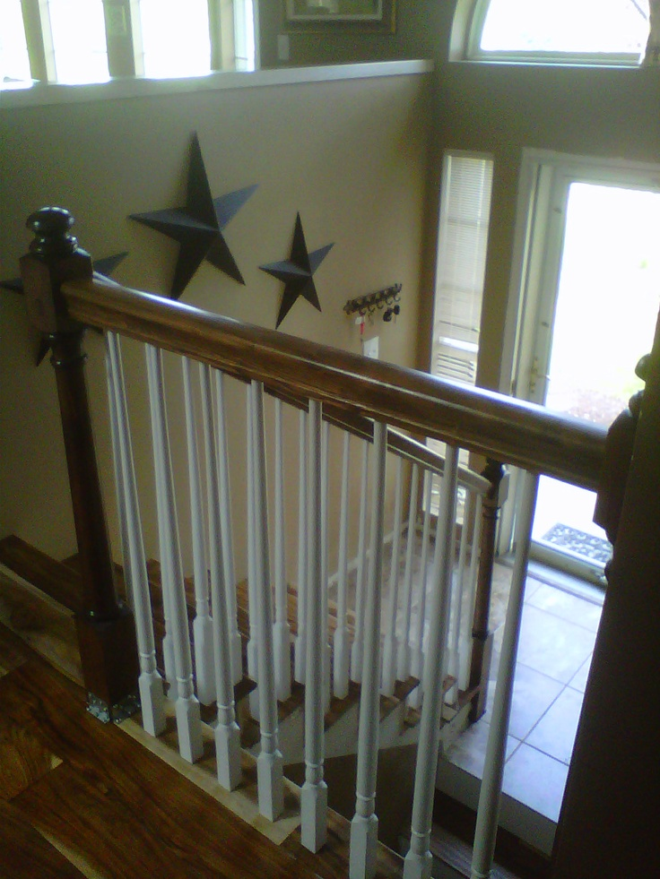 211 best images about for the home on pinterest raised for Raised ranch entryway remodel