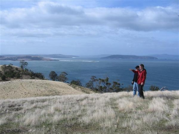 Dennes Hill, Bruny Island. Photo and article by Helen Young for www.think-tasmania.com