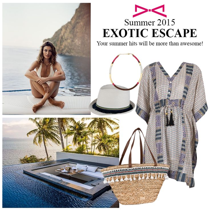 Your outfit will be an exotic escape. Summer is here!  #achilleas_accessories