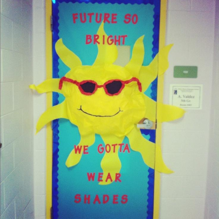Classroom door idea (butcher paper)