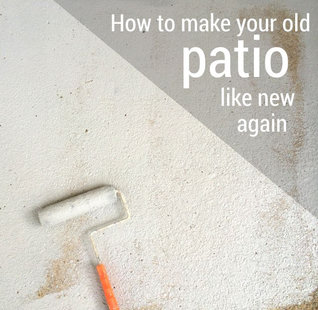 How I Made My Patio Look New Again With Olympic Rescue It!