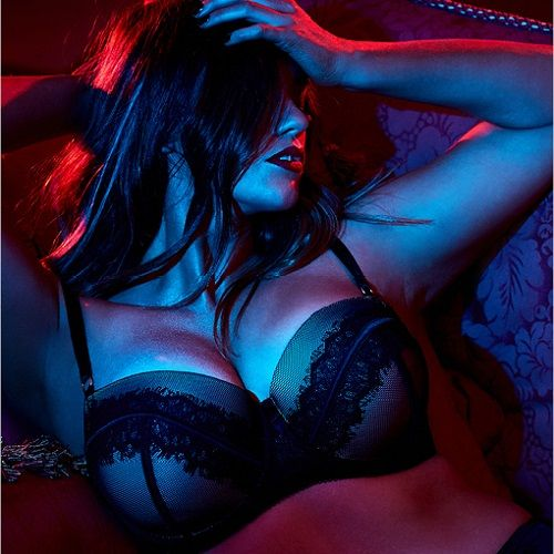 Plus-Size Lingerie : Extra 50% off Lingerie + 25% off + Free S/H