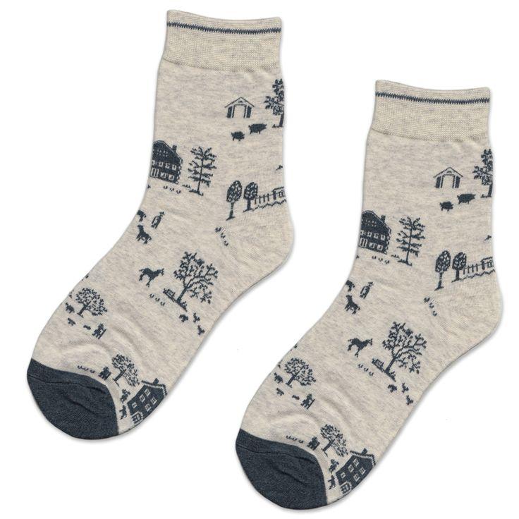 Oatmeal Farm Socks