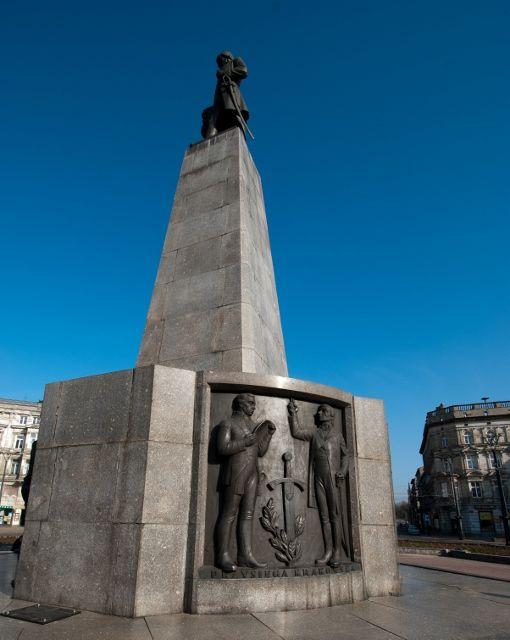 Tadeusz Kościuszko statue, Łódź, Poland