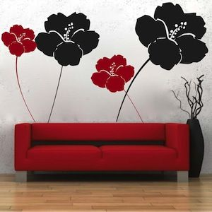 Cool Flower Wall Decals Part 62