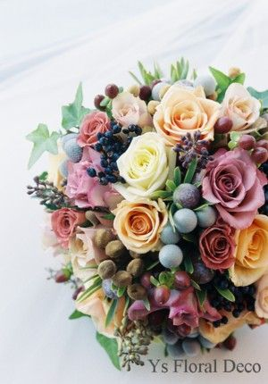 実ものいっぱいラウンドブーケ ys floral deco