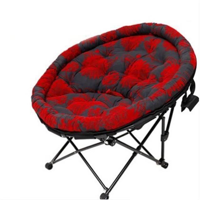 home furniture nap lazy indoor beach leisure balcony modern outdoor living room portable round stool cadeira folding chair