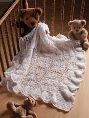 How pretty! This would be beautiful for a christening.