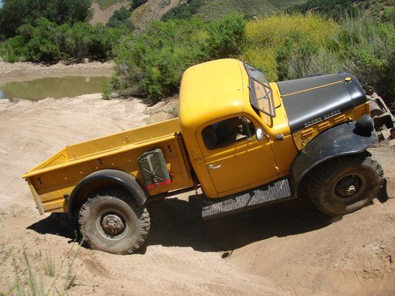 Ever heard of a Swivel Frame Dodge Truck?