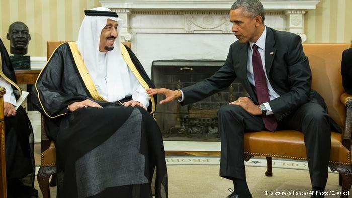 US: Saudi King in Washington amid Concerns over Iran
