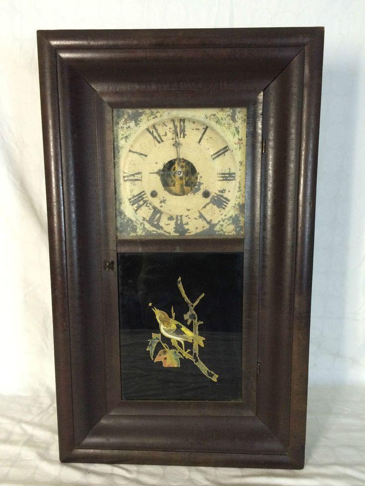 Antique Mantel Clocks >> ANTIQUE 1882 WM L GILBERT CLOCK CO WINSTED CONNECTICUT 8 ...