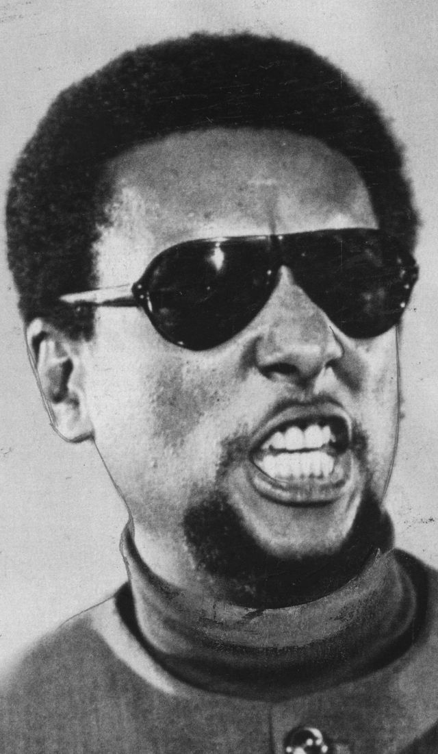 Members of the Black Panther Party: Stokely Carmichael ...