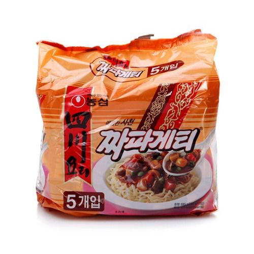 Sichuan Sacheon JJapagetti JJajangMyeon Zhajangmyeon Noodle Dish Spicy 137g 5pc #NongShim