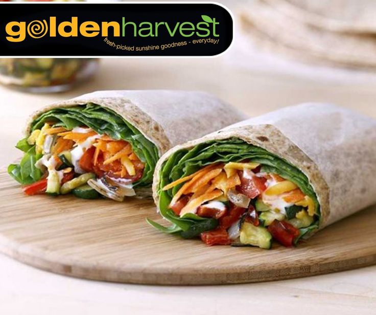 It's #MeatfreeMonday, and after the big meal you had yesterday, you probably want something light for dinner tonight. These Tortillas with roasted veggies are perfect for a light meat-free meal. For the full recipe, click here: http://ablog.link/47q. #GoldenHarvest