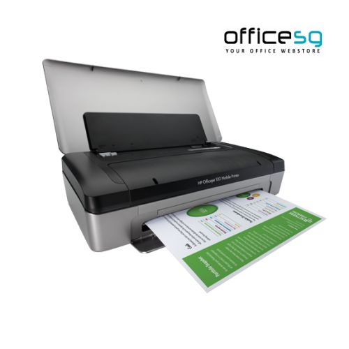 Buy HP Officejet 100 Mobile Printer Online. Shop for best All In One Printers online at Officesg.com. Discount prices on Office Technology Supplies Singapore, Free Shipping, COD.