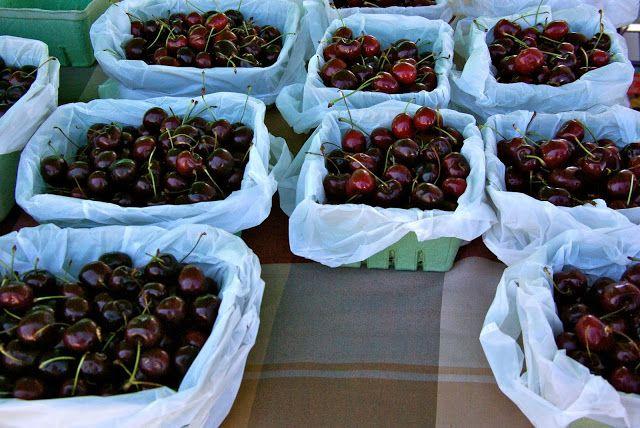 Okanagan cherries