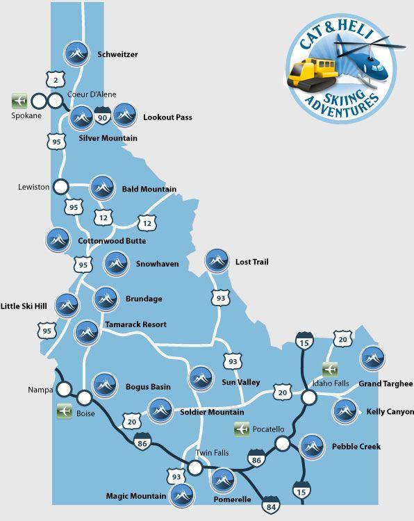 Idaho Happenings And Ski Resorts On Pinterest