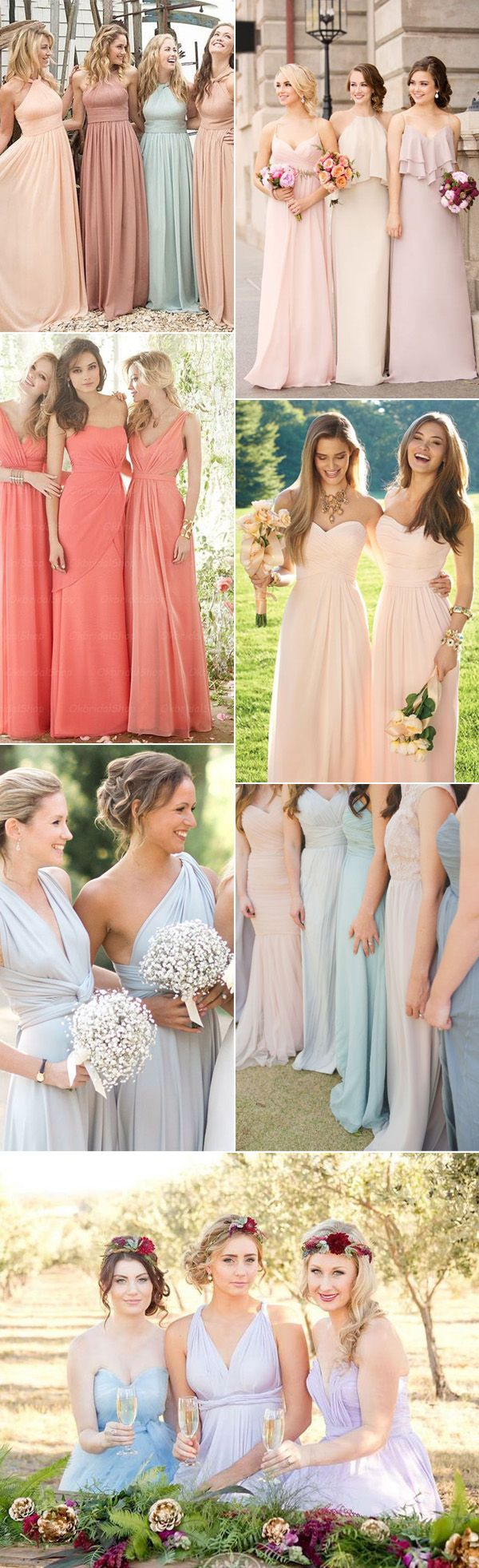 18 best bridesmaid dresses ideas images on pinterest marriage top 10 bridesmaid dresses styles for 2017 wedding ideas ombrellifo Image collections
