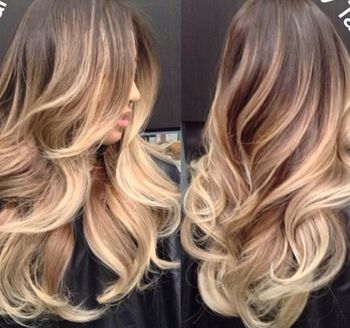 Beautiful, subtle ombre highlights - Long | Hair | Makeup | Hair Color | Hair Extensions | Lingerie | Swimsuit | Glamour | Models | Beautiful | Women | Girls | Ciao Bella | Venus | Versa