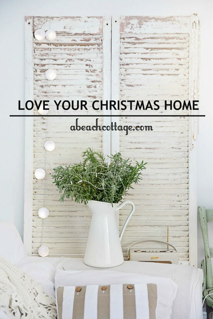 Love Your Christmas Home Day 3 Beach Cottages Cottage