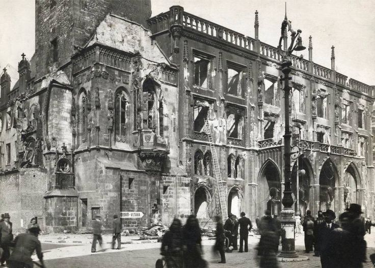 8.5.1945 Liberation of Prague. The day after the damages were calculated.