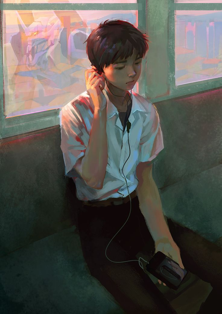 Shinji by liasailor.deviantart.com on @DeviantArt