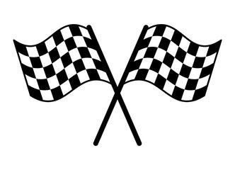 Checkered Or Chequered Flag For Car Racing Flat Vector Icon For Sports Apps And Websites Affiliate Car Racing Fl Checkered Flag Race Cars Racing Flats