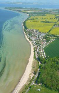 Luftbild Campingplatz Liebeslaube