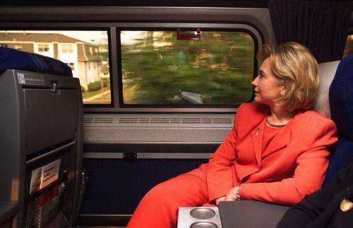 Hillary in car -  Sec of State