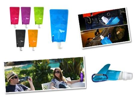 Flexi Katlanabilir Çevre Dostu Su Şişesi (6 Renk) 3,90 TL