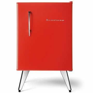 Frigobar Brastemp Retrô BRA08AV 76 Litros Vermelho: Art Deco