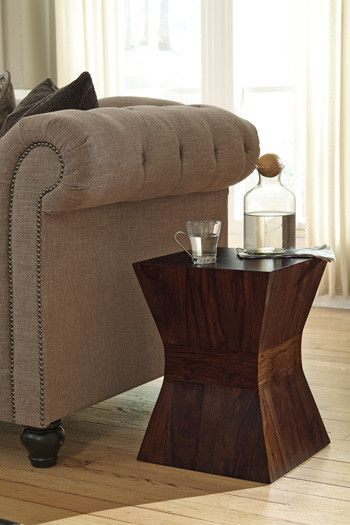 living room decor on a budget holifern end table by ashley furniture at kensington furniture