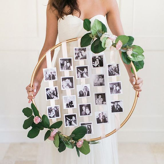 hula hoops wedding photo album