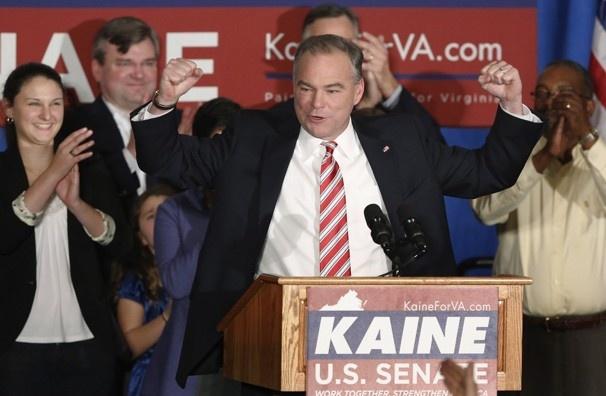 How Tim Kaine won the VA Senate race - The Washington Post | Congratulations, Senator Kaine! VA loves you!