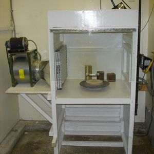 Home made spray booth paint booth pinterest atelier for First flush diverter plans