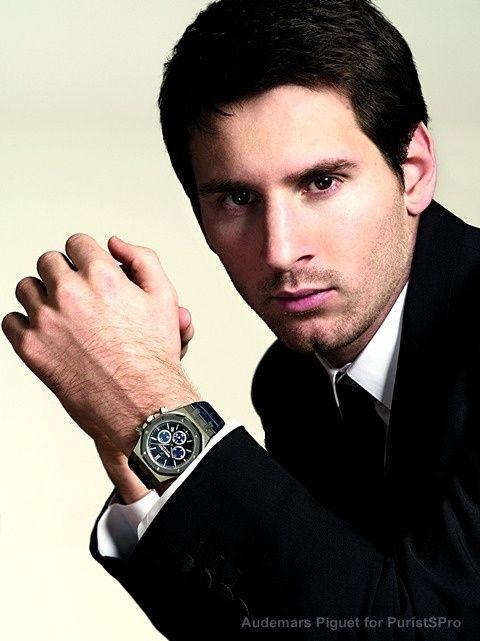 Audemars Piguet - Audemars Piguet's platinum Royal Oak Chronograph Leo Messi N°10 Auctioned by Sotheby's