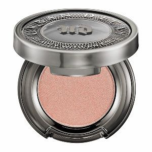 """Urban Decay Eyeshadow in color """"X"""" This shadow is a lovely shade of golden pink! The look of the shadow changes from pink to gold depending on the angle of the lighting. Very shimmering pigmentation, but goes on very smooth. There is no chunky glitter to slow your sparkle down! Long lasting also! 5 star eyeshadow!"""