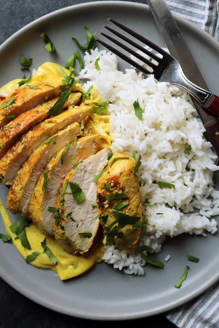 NYT Cooking: A blended curry powder is one of the original convenience foods, a venerable spice rub that can improve the flavor of almost anything. Even a good chicken breast is about as bland as meat can get, but spiced with a little curry, its flavor comes alive. In this dish, season sliced onions and chicken breast with the spice and finish the sauce with sour cream. The p...