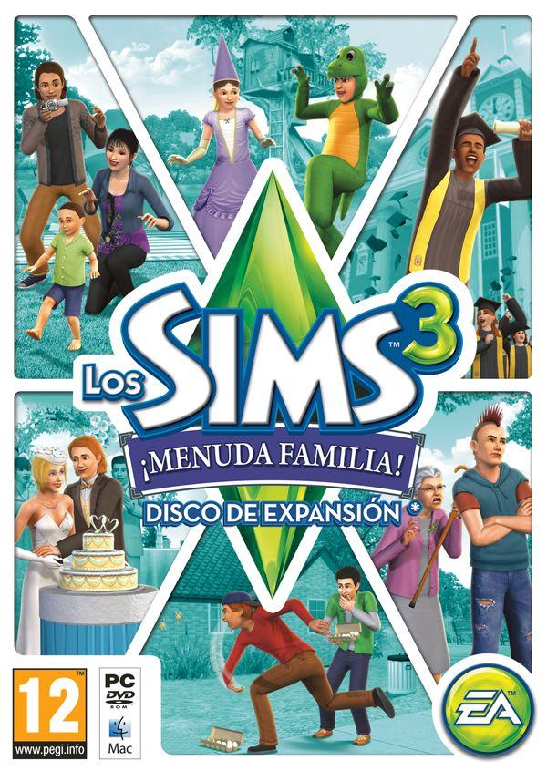 Los Sims 3 ¡Menuda Familia!