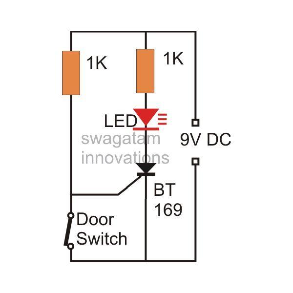 Door Intrusion Monitor Circuit Diagram Image Circuit Security Solutions Make It Simple