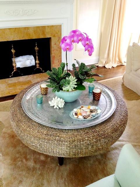Best 25 Ottoman Tray Ideas On Pinterest Coffee Table